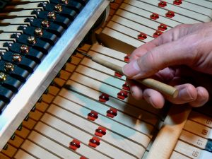 Playing on a properly regulated piano will help you play better