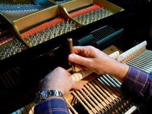 A competent technician can monitor your piano's tone